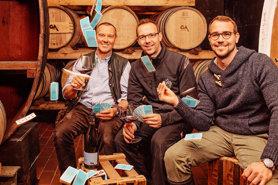 Gert, Hansjörg und Matthias Aldinger