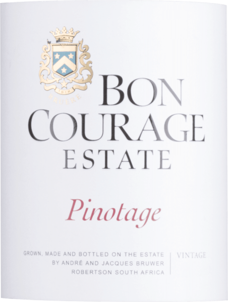 Pinotage 2015 - Bon Courage von Bon Courage