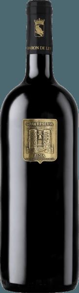 Aus dem Gran Reserva Vina Imas Gold Edition von Barón de Ley spricht ein Stück ursprünglicher, spanischer Weinkultur. Dieser Rotwein ist ein besonders homogener, nobler Rioja. In der Nase würzig mit charakteristischen Preiselbeer-, Leder- und Vanilleduft. Der weiche Gaumen offenbart einen wunderbar fruchtig milden Geschmack, der von einem extrem anhaltenden Abgang abgerundet wird. Speiseempfehlung zur Vina Imas Gran Reserva Wir empfehlen diesen Rotwein aus Spanien zu kräftigen Wildgerichten oder zu kurzgebratenem Lamm und Rind.