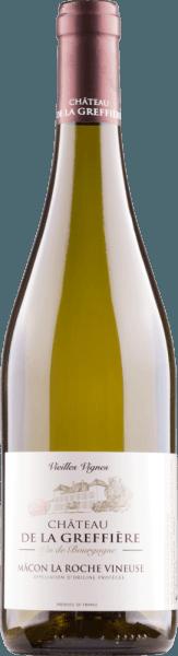 La Roche-Vineuse Chardonnay Mâcon AOC 2018 - Château de la Greffière