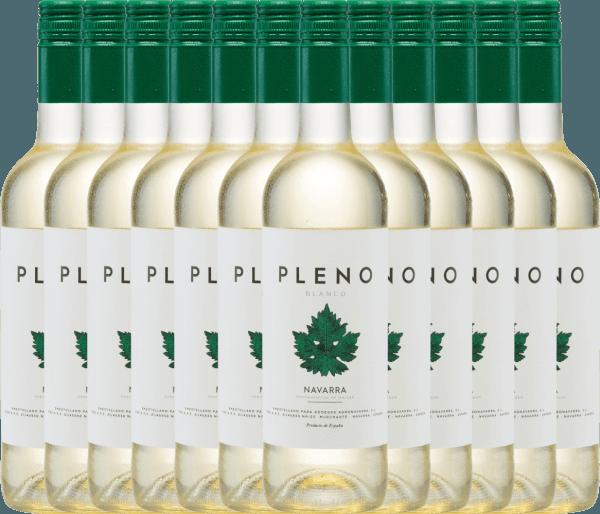 12er Vorteils-Weinpaket - Pleno Blanco DO 2020 - Bodegas Agronavarra