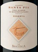Vorschau: Santa Pia Vino Nobile di Montepulciano Riserva DOCG 2016 - La Braccesca