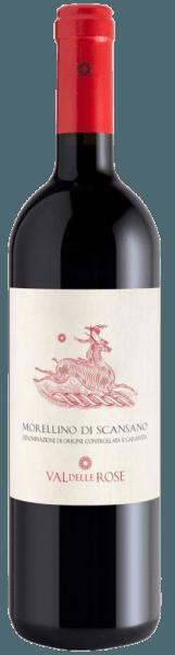 Der Morellino di Scansano DOCG von Val delle Rose präsentiert sich im Glas glänzend Rot mit violetten Reflexen. An der Nase entfalten sich die intensiv fruchtigen und sortentypischen Duftnoten von Weichselkirschen, Wildkirschen und eine feine Würze. Diese verleiht dem Wein Morellino di Scansano Finesse und eine reiche Aromatik. Am Gaumen ist dieser Rotwein aus der Toskana größzügig, vollmundig und samtig. Fein eingebundene Tannine leiten in einen langen und runden Abgang. Ein geschmackvoller, fruchtiger roter Italiener, welcher ein Underdog aus der Maremma Toscana ist. Vinifikation des Morellino di Scansano DOCG von Val delle Rose Dieser Klassiker aus der Maremma an der italienischen Mittelmeerküste zeigt einmal mehr, welches Potential in dem dortigen Terroir steckt. Dieser geschmackvolle Rotwein wird aus mindestens 90% Sangiovese-Trauben hergestellt, der dort unter dem Namen Morellino bekannt ist, und maximal zu 10% aus weiteren zugelassenen roten Rebsorten, die ebenfalls in den Weinbergen des Weinguts Val delle Rose wachsen. Nach der Lese werden die Trauben kalt mazeriert, anschliessend erfolgt die Gärung über 16 Tage bei kontrollierter Temperatur bei 26°C. Nach 5 Monaten in Barriques wird der Morellino von Val delle Rose in Flaschen abgefüllt und mindestens weitere 3 Monate gelagert, bevor er in den Verkauf kommt. Speiseempfehlung für den Morellino di Scansano DOCG von Val delle Rose Genießen Sie diesen trockenen Rotwein zu den Klassikern der italienischen Küche - Pasta und Pizza oder zu gegrilltem Fisch und Hartkäse.