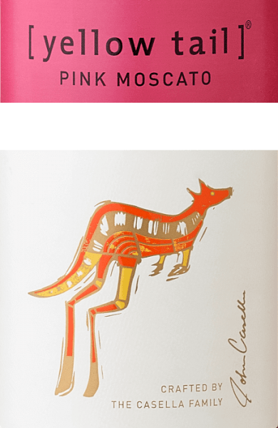 Pink Moscato - Yellow Tail von Yellow Tail