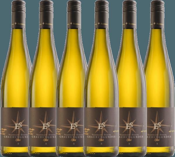 6er Vorteils-Weinpaket - Grauburgunder trocken 2020 - Ellermann-Spiegel