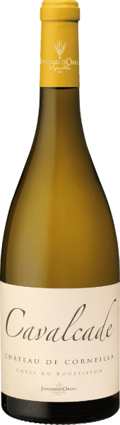 Cavalcade Blanc Côtes de Roussillon AOP 2019 - Château de Corneilla