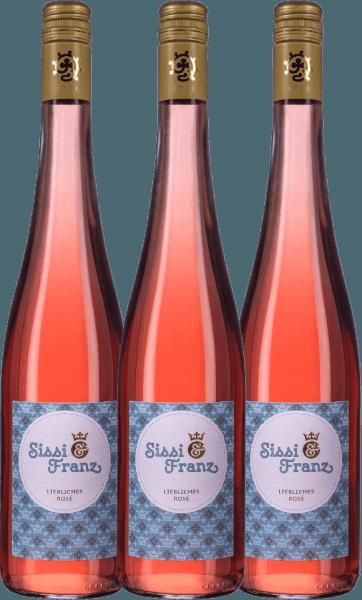 3er Vorteils-Weinpaket - Sissi & Franz liebliches Rosé 2019 - Weingut Hammel