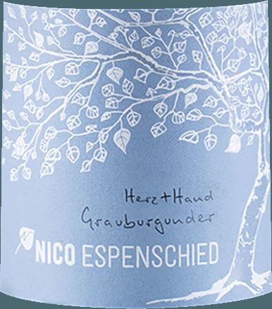 Herz+Hand Grauburgunder 2018 - Nico Espenschied von Nico Espenschied