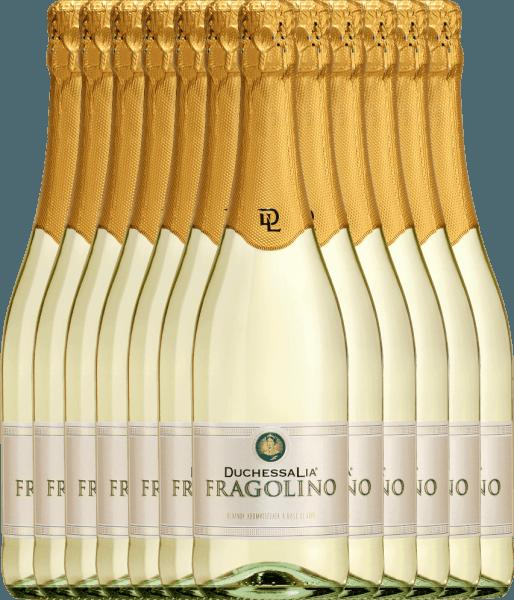 12er Vorteilspaket - Fragolino Bianco - Duchessa Lia