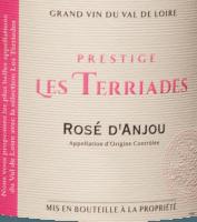 Vorschau: Rosé d'Anjou Les Terriades AOC 2020 - Les Caves de la Loire