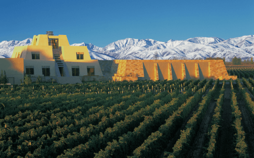 The Bodega Catena Zapata in Mendoza