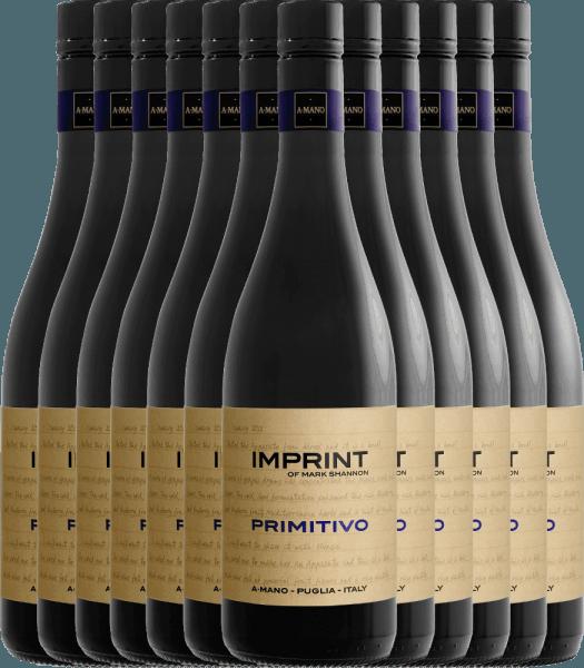 12er Vorteils-Weinpaket - Imprint Primitivo Puglia 2019 - A Mano