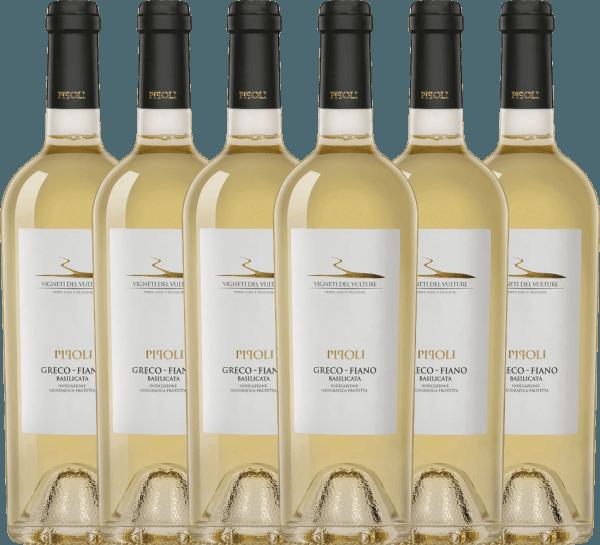 6er Vorteils-Weinpaket - Pipoli Greco Fiano IGT 2019 - Vigneti del Vulture