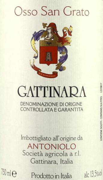 Osso San Grato Gattinara DOCG 2013 - Antoniolo von Antoniolo