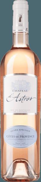 Cuvée Spéciale Rosé Côtes de Provence AOP 2019 - Château d'Astros