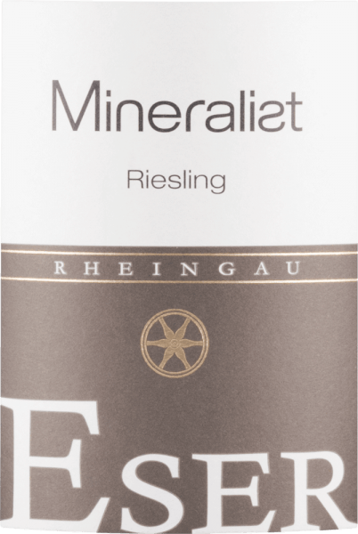 Mineralist Riesling trocken 2018 - Weingut Eser von Weingut Eser