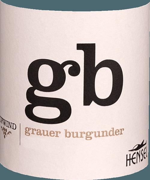 Aufwind Grauer Burgunder 2019 - Thomas Hensel von Weingut Hensel