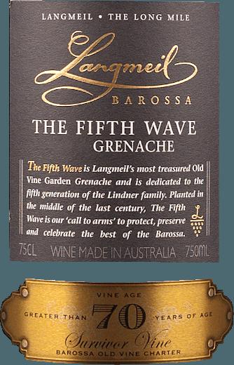 The Fifth Wave Grenache Barossa Valley 2017 - Langmeil von Langmeil