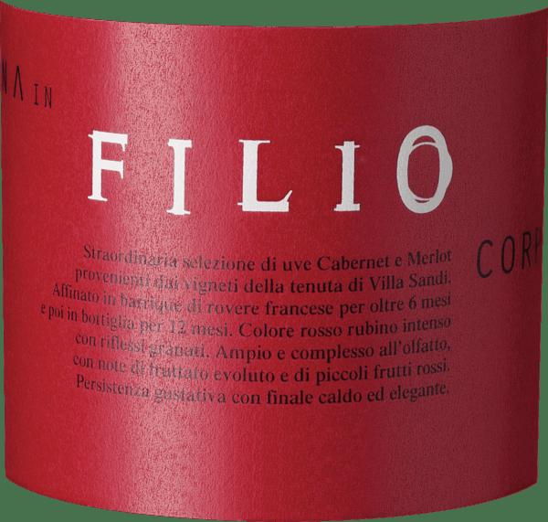 FILIO Cabernet IGT 2013 - Villa Sandi von Villa Sandi