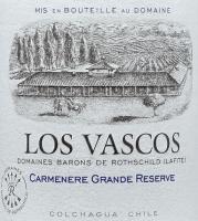 Vorschau: Carmenere Grande Reserve 2019 - Viña Los Vascos