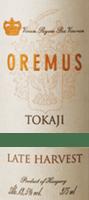 Vorschau: Tokaji Late Harvest Spätlese 0,5 l 2016 - Tokaj Oremus