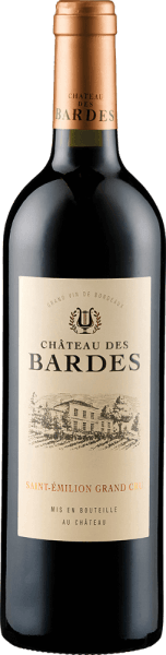 Château Des Bardes AOC Saint Emilion Grand Cru 2016 - Château des Bardes
