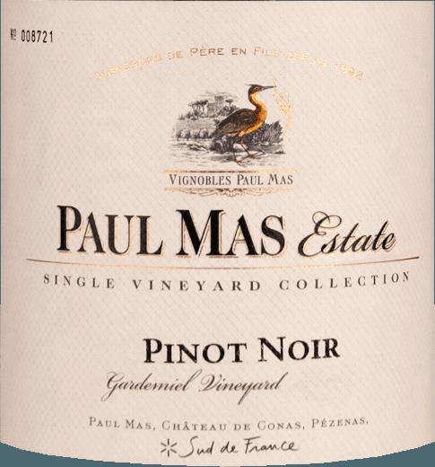 Singel Vineyard Collection Pinot Noir 2018 - Paul Mas Estate von Domaine Paul Mas