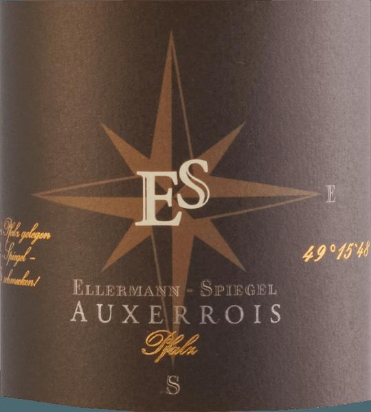 Der Auxerrois Gutswein trocken von Ellermann - Spiegel platingelb im Glas, ist elegant und fein, zugleich aber auch ungeheuer kraftvoll. In der Nase zeigt sich eine herrliche Aromenvielfalt nach frischer Honigmelone, weißfleischigem Pfirsich und reifem Apfel. Würzige Nuancen und florale Noten ergänzen den lebhaften und duftigen Eindruck. Am Gaumen ist der Auxerrois aus der Pfalz wunderbar saftig, weich und stoffig. Die Kombination aus viel Extrakt und spritziger Säure steht dieser Rebsorte ausgezeichnet.Das Finale halt lange nach und macht Lust auf den einen oder anderen weiteren Schluck. Speiseempfehlung zum Auxerrois von Frank Spiegel aus der Pfalz. Genießen Sie diesen trockenen Weißwein zu Gerichten mit Huhn oder Pute, aber auch zu pikanten Fischgerichten oder einem mittelkräftigen Käse.