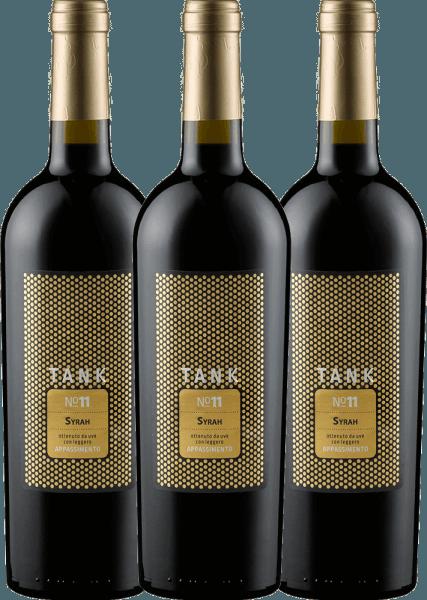 3er Vorteils-Weinpaket TANK No 11 Syrah Appassimento 2019 - Cantine Minini