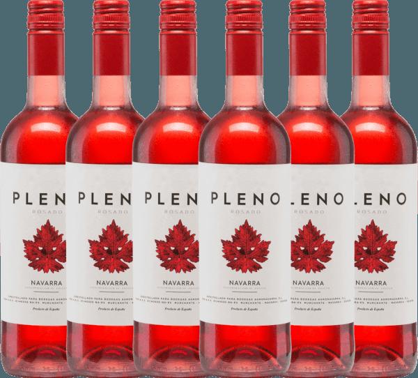 6er Vorteils-Weinpaket - Pleno Rosado DO 2020 - Bodegas Agronavarra