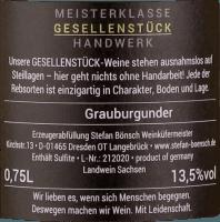 Vorschau: Grauburgunder 2020 - Stefan Bönsch