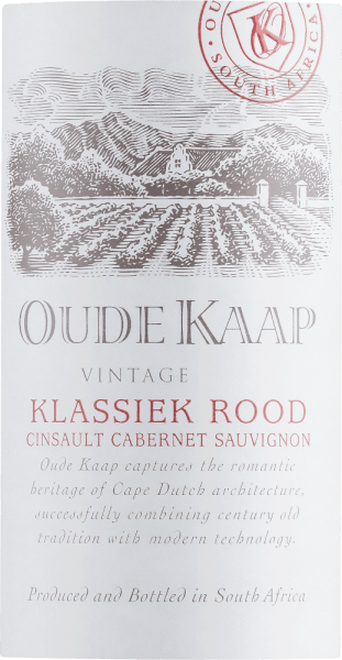 Oude Kaap Klassiek Rood 2020 - DGB von DGB