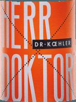 Vorschau: Herr Doktor Weißweincuvée 2019 - Dr. Koehler