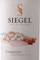 Vorschau: Special Reserve Carménère 2018 - Viña Siegel