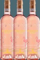 3er Vorteils-Weinpaket - Merlot Rosé serigrafiert 2019 - Fortant de France