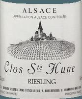Preview: Riesling Clos Sainte Hune 2016 - F.E. Trimbach