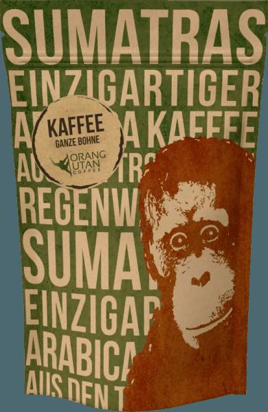 Orang-Utan Kaffee Ganze Bohne - Speicherstadt Kaffeerösterei von Speicherstadt Kaffeerösterei