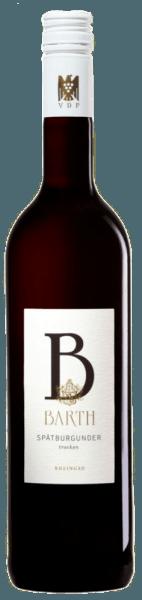 Spätburgunder trocken QbA 2015 - Wein- und Sektgut Barth von Weingut und Sektgut Hans Barth