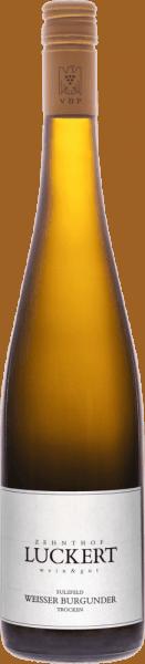 Der Sulzfelder Weißburgunder vom Weingut Zehnthof verzückt mit seinen Fruchtaromen von Äpfeln, vollreifen Birnen und Zitrusfrüchten. Desweiteren begleiten diesen Frankenwein florale und würzige Noten. Am Gaumen ist dieser Weißwein saftig, mit einem ausgewogenen Körper, einer lebhaften Säure und mit viel Schmelz. Speiseempfehlung für den Sulzfelder Weißburgunder Genießen Sie diesen trockenen Weißwein zu mittelkräftigen Fleischgerichten, wie Schweinefleisch oder Wildgeflügel, oder zu asiatischen Gerichten.