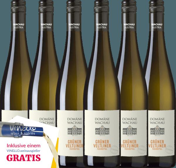 6er Vorteils-Weinpaket - Grüner Veltliner Federspiel Terrassen 2019 - Domäne Wachau von Domäne Wachau