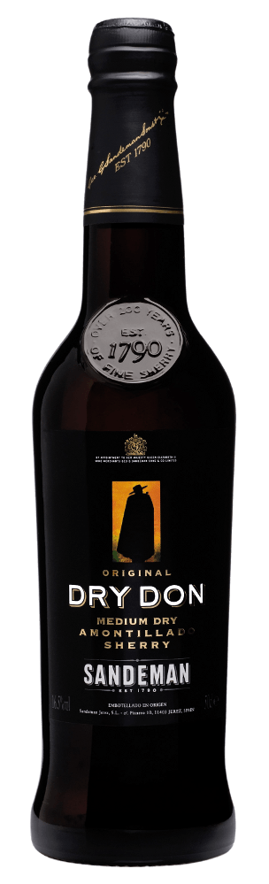 Sandeman Dry Don Medium Dry Amontillado in Geschenkverpackung - Sandeman
