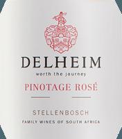 Preview: Delheim Pinotage Rosé 2021 - Delheim