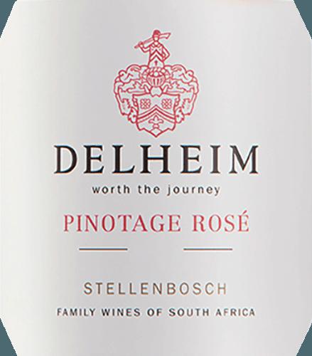 Delheim Pinotage Rosé 2020 - Delheim von Delheim Wines