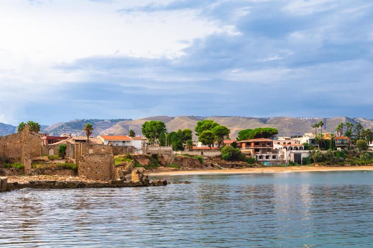Avola in der Provinz Syrakus