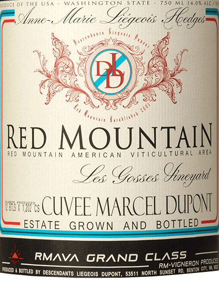 Syrah Red Mountain 2016 - Hedges von Hedges Family Wineyards