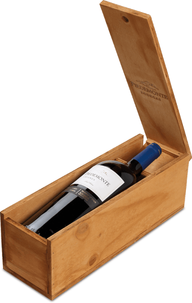 Cabernet Sauvignon Crianza DO 1,5 l in Holzkiste 2015 - Piedemonte