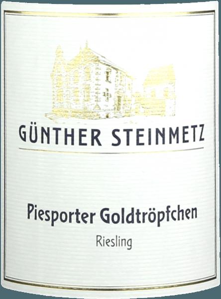 Piesporter Goldtröpfchen Riesling trocken 2019 - Günther Steinmetz von Weingut Günther Steinmetz