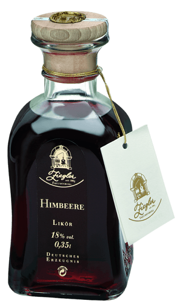 This liqueur is made from fully ripe raspberries that grow in high altitudes. The special harvesting areas give these rare fruits a unique and typical expression. Ziegler`s raspberry liqueur reveals a highly aromatic and strong intensity in the mouth and is suitable for cocktails, many desserts, fruit sorbets and desserts as well as for mixing with champagne, wine or sparkling wine. It can also be enjoyed as an aperitif or solo. A good liqueur must not have a viscous consistency and must not taste sugary.