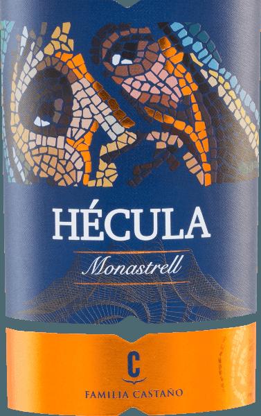 Der Hécula Tinto von Bodegas Castaño ist ein reinsortiger Rotwein aus der Monastrell-Traube und zeigt sich in einer intensiven tiefvioletten Farbe. Satte, elegante Aromen nach Blaubeeren, schwarzen reifen Himbeeren, verfeinert mit einem zarten Hauch von Holztönen kennzeichnen das Bouquet. Am Gaumen zeigt sich dieser spanische Rotwein vollmundig, weich, samtig und hervorragend balanciert mit eleganten reifen Tanninen, einer einladenden Fülle und einer weichen Fruchtigkeit sowie schön integrierten Holznoten. Der Abgang ist weich und nachhaltig. Vinifikation des Bodegas Castaño Hécula Die von Hand geernteten Trauben des Weingutes Bodegas Castaño werden entrappt, gemahlen, eingemaischt und die daraus entstandene Maische wird temperaturkontrolliert im Edelstahltank vergoren. Dieser vergorene Wein reift schließlich für 6 Monate in französischen und amerikanischen Eichenfässern. Speiseempfehlung für den Hécula Tinto Castaño Dieser trockene Rotwein aus Spanien ist ein besonderer Genuss zu allen Wildgerichten, Rind und Lamm, passt aber auch solo getrunken zu einer guten Zigarre. Auszeichnungen für denHécula von Bodegas Castaño Mundus Vini: Silber für 2015 Korea Wine Challenge: Gold für 2015