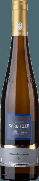 Im Glas zeigt der Hattenheimer Wisselbrunnen Riesling Großes Gewächs von Spreitzer eine leuchtend hellgelbe Farbe. Nach dem ersten Schwenken, kann man bei diesem Weißwein eine perfekte Balance wahrnehmen, denn er zeichnet sich an den Wänden des Glases weder wässrig noch sirup- oder likörartig ab. Die Aromatik dieses Weißweins aus dem Rheingau wird bestimmt von Anklängen nach allerlei roten und schwarzen Beeren und dunklen Früchten wie Herzkirschen und Pflaumen. Der Spreitzer Hattenheimer Wisselbrunnen Riesling Großes Gewächs präsentiert sich dem Weinfreund herrlich trocken. Dieser Weißwein zeigt sich dabei nie grobschlächtig oder karg, sondern rund und geschmeidig. Durch seine präsente Fruchtsäure präsentiert sich der Hattenheimer Wisselbrunnen Riesling Großes Gewächs am Gaumen beeindruckend frisch und lebendig. Das Finale dieses Weißwein aus der Weinbauregion das Rheingau besticht schließlich mit schönem Nachhall. Vinifikation des Spreitzer Hattenheimer Wisselbrunnen Riesling Großes Gewächs Der balancierte Hattenheimer Wisselbrunnen Riesling Großes Gewächs aus Deutschland ist ein reinsortiger Wein, hergestellt aus der Rebsorte Riesling. Nach der Weinlese gelangen die Trauben auf schnellstem Wege ins Presshaus. Hier werden sie sortiert und behutsam aufgebrochen. Anschließend erfolgt die Gärung im bei kontrollierten Temperaturen. Der Vinifikation schließt sich eine Reifung . Speiseempfehlung zum Spreitzer Hattenheimer Wisselbrunnen Riesling Großes Gewächs Genießen Sie diesen Weißwein aus Deutschland idealerweise gut gekühlt bei 8 - 10°C als begleitenden Wein zu
